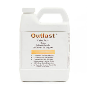 Outlast Color Burst Additive, Outlast ColorBurst Additive, Outlast color additive, outlast exterior color burst, log cabin care, exterior preservative color, log home care, log cabin home care, exterior treatment for log cabins