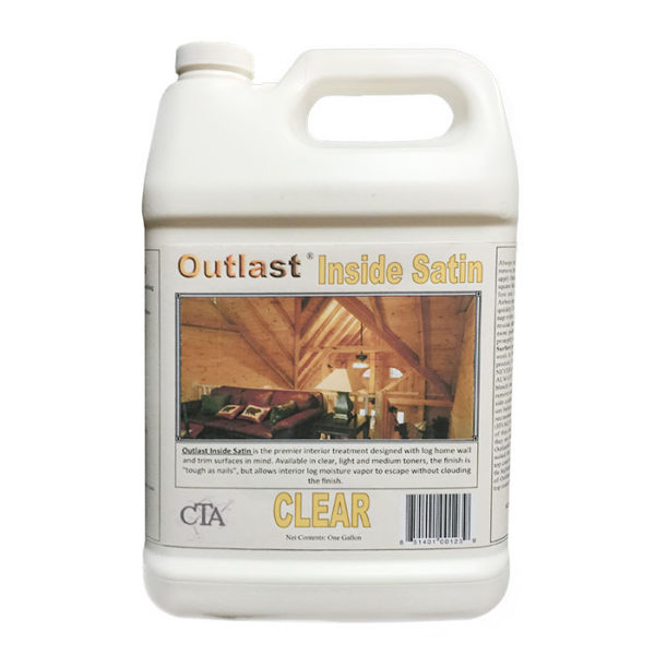 Outlast Interior Preservative – Inside Satin, Outlast Interior Preservative, Outlast Interior Treatment, Outlast Interior Preservative with Satin Finish, log cabin care, log cabin interior maintenance products, log home interior maintenance products, log cabin home interior maintenance products, interior stain for log home, interior stain for log cabin, interior stain for log cabin home